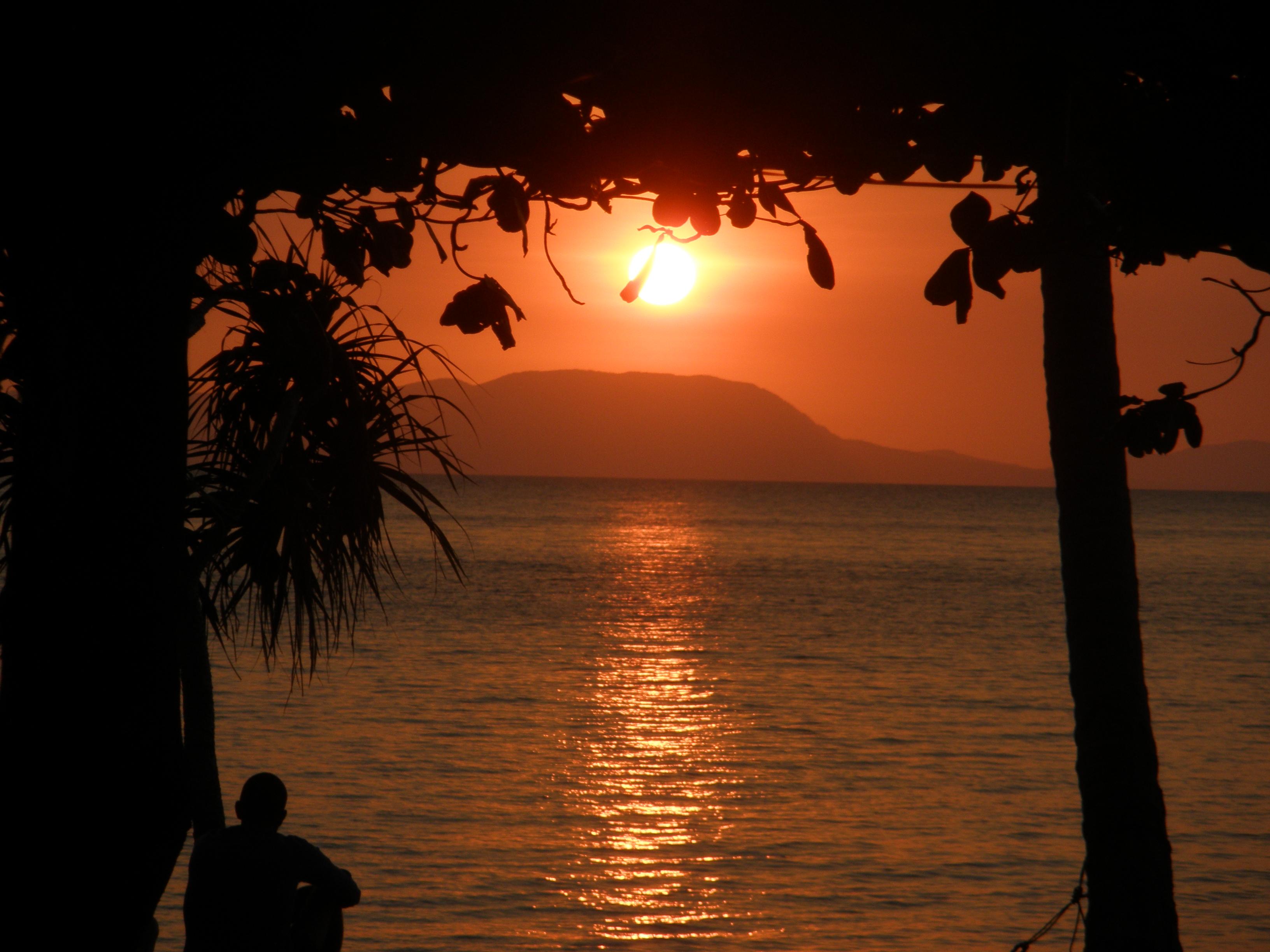 sunset, kon thonsay