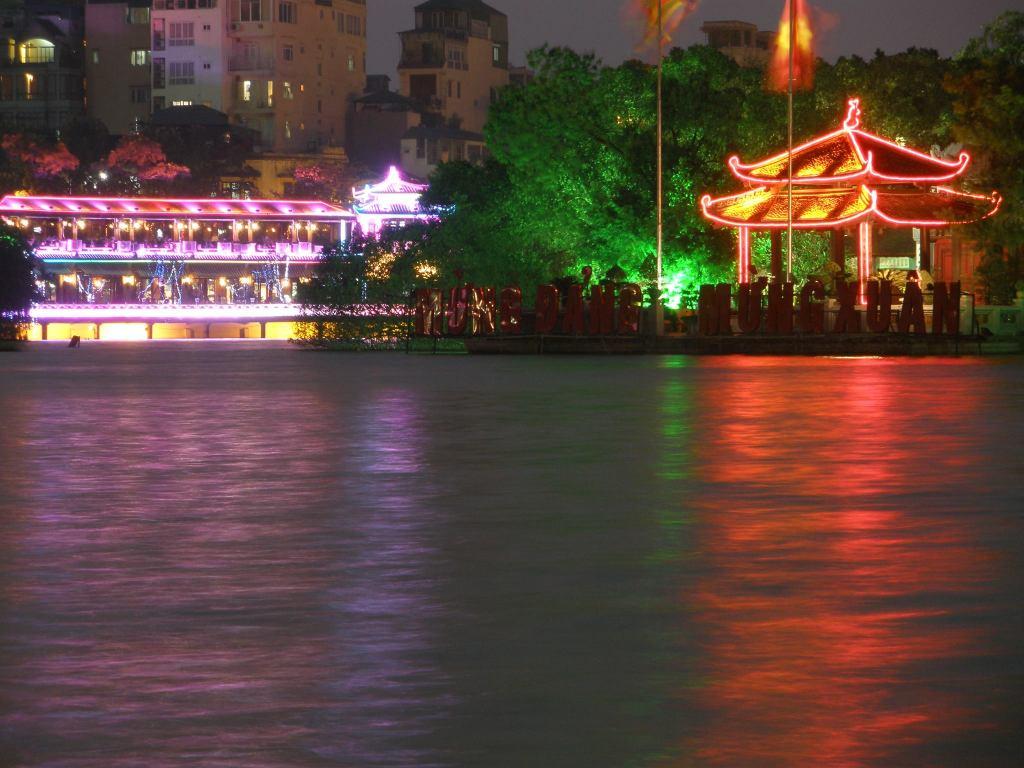 lake, hanoi, vietnam