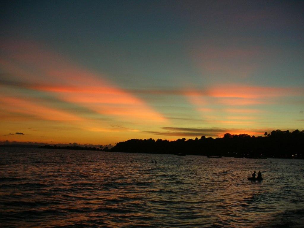 sunset, sihan