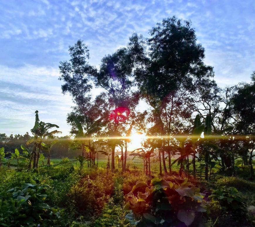 Sunrise, Pamekasan, Madura
