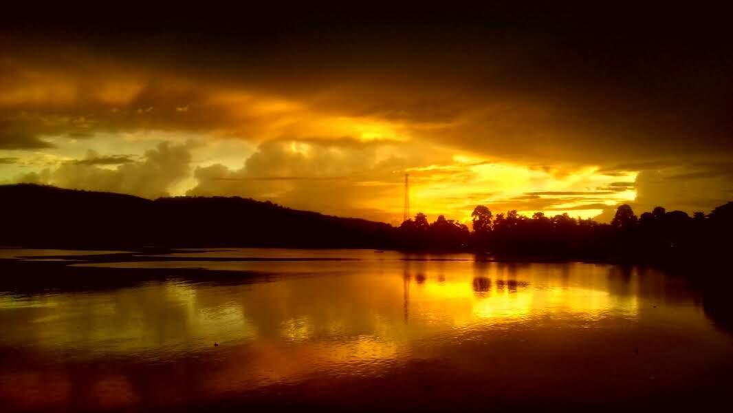 Sunset over Pulau Saparua