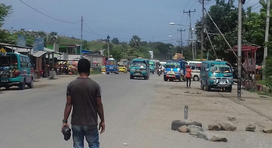 Tasi Tolu bus terminal, Dili