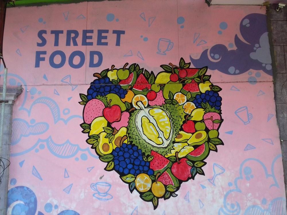 Street food sign, Sumenep