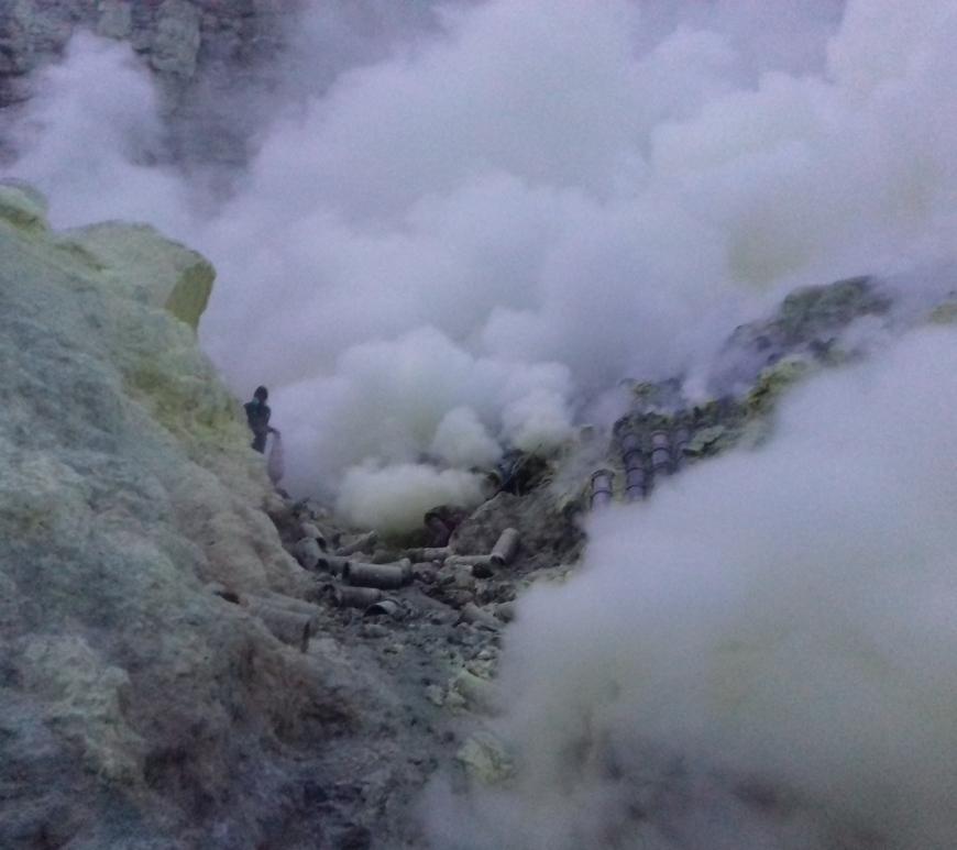 ijen crater, java
