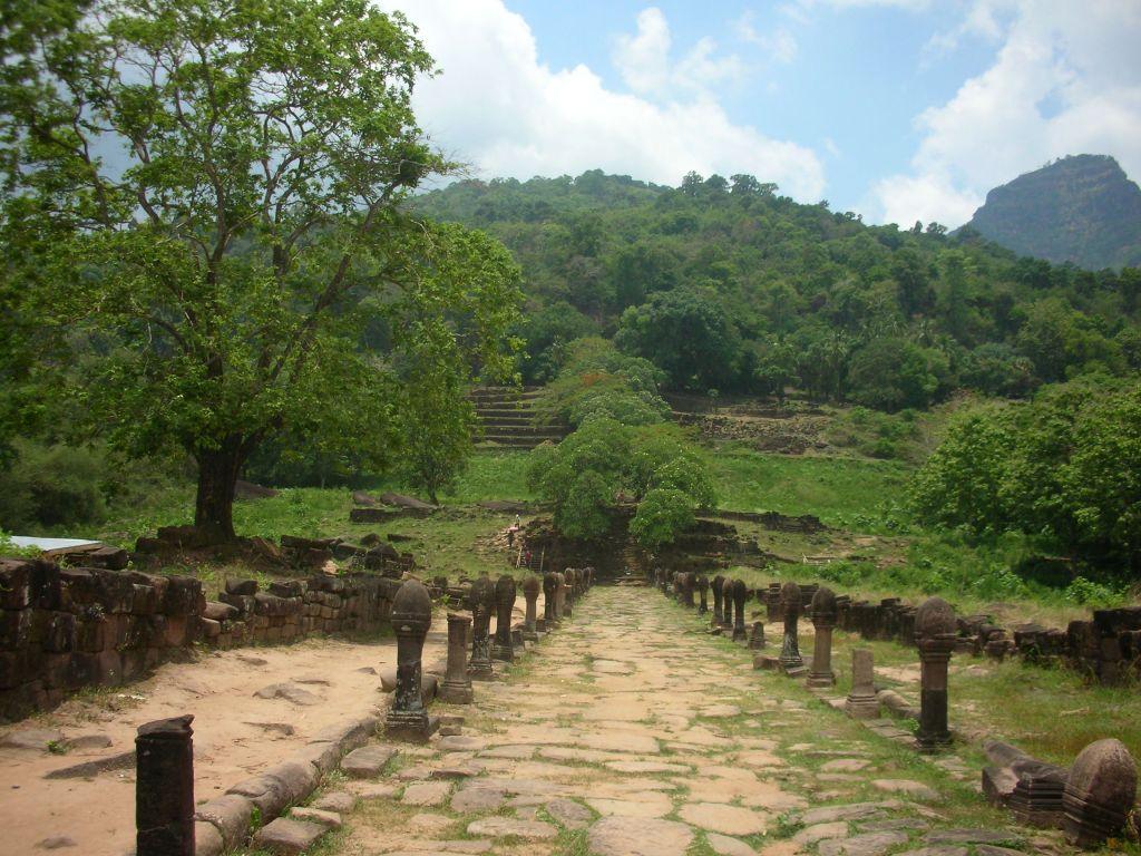 Wat Po Champasak, Laos