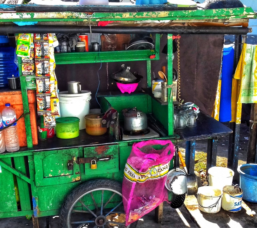 coffee cart, surabaya